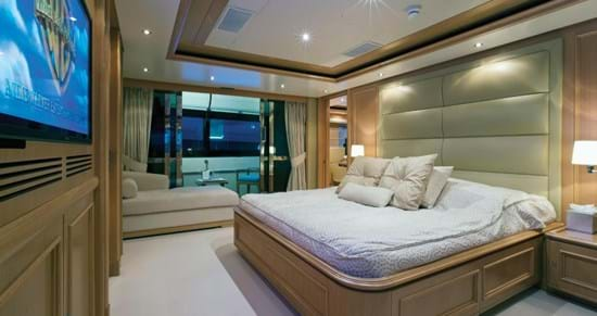 Monaco Super Yacht Cabin Accommodation
