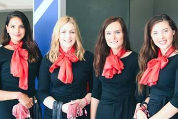 Hospitality Suite Hostesses at Silverstone