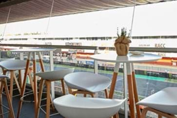 Pedralbes Hospitality Views at the Spanish GP