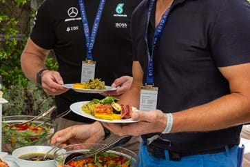 VIP Terrace Hospitality at The Monaco Grand Prix
