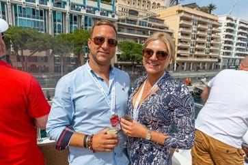 Yacht Hospitality at the Monaco Grand Prix