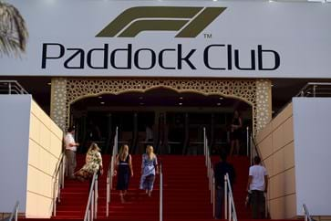 Bahrain F1 Paddock Club Entrance