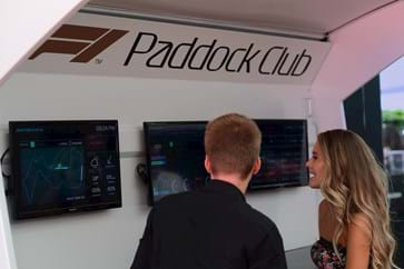 F1 Paddock Club Hospitality Packages