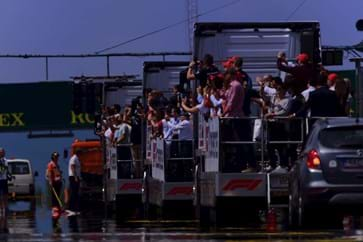 Budapest GP Hospitality Packages