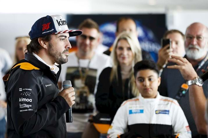 Driver Appearance at US Grand Prix Hospitality