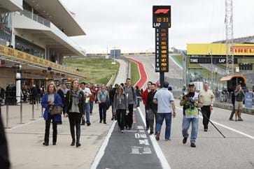 Hospitality Guests at the USA Grand Prix
