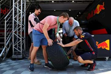 Red Bull Paddock Club Tyre Talk