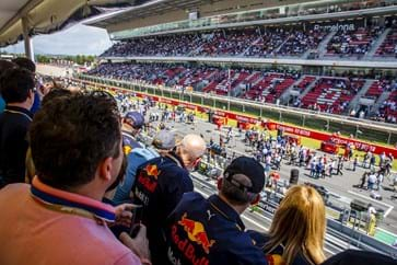 Paddock Club Balcony View Barcelona