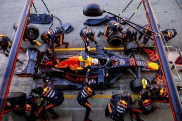 Red Bull Pit Stop Practice